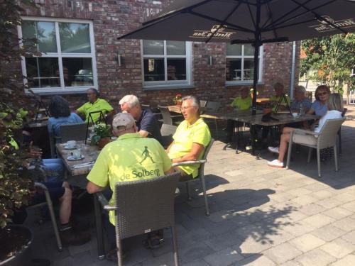 lunch bij eetcafé de Elze Hout - Blerick
